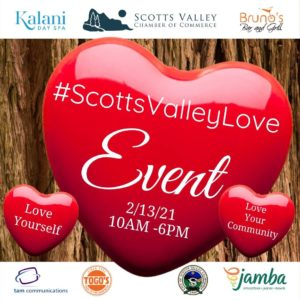 Come and see us this weekend for #ScottsValleyLove!